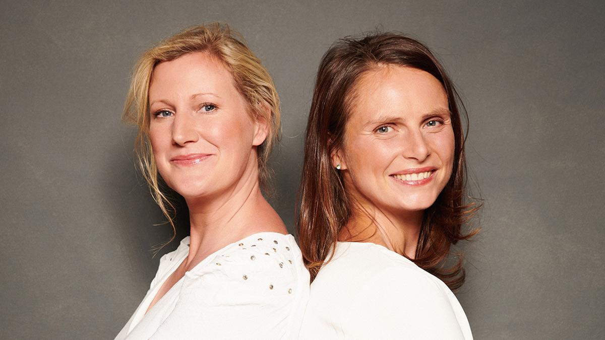 DieCourage-Initiatorinnen Daniela und Astrid