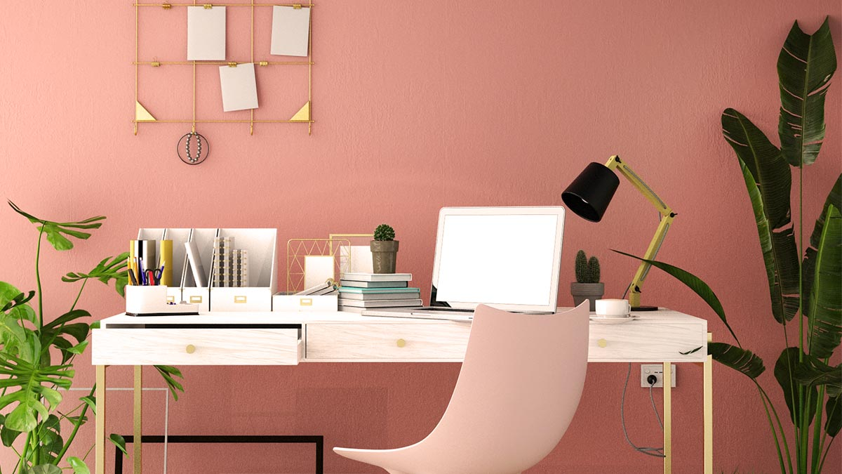 Schöner Schreibtisch