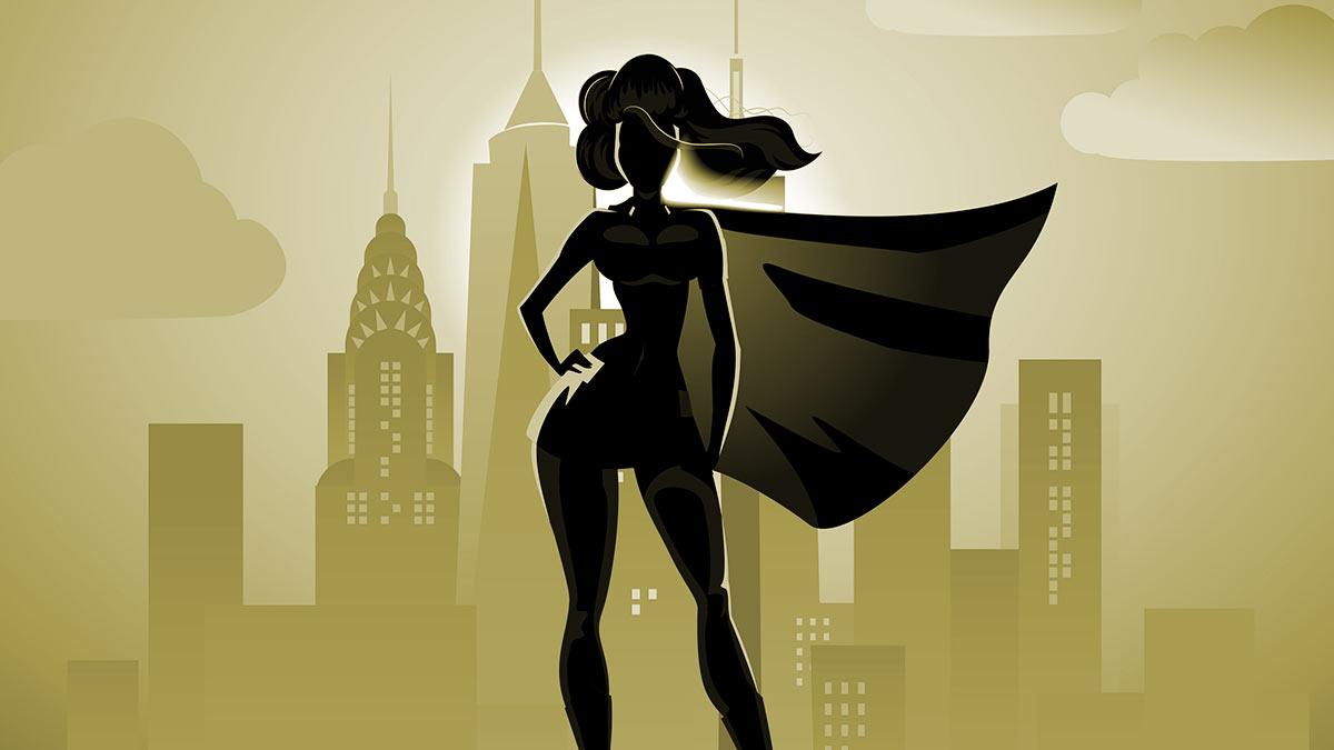 Superheldinnen: Die, die durchs Feuer geht